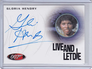 James Bond 50th Anniversary Series 2 Gloria Hendry as Rosie Autograph card A220
