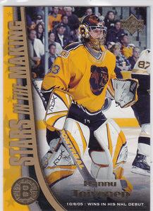 Hannu Toivonen 2005-06 Upper Deck Stars in the Making card SM9