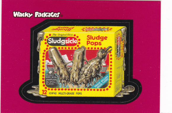 2004 Topps Wacky Packages Stickers Promo Sticker #2 of 3 Sludgsicle