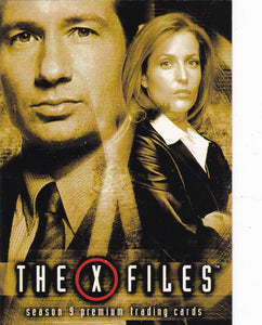 2003 Inkworks The X-Files Season 9 Trading Cards Promo card P1