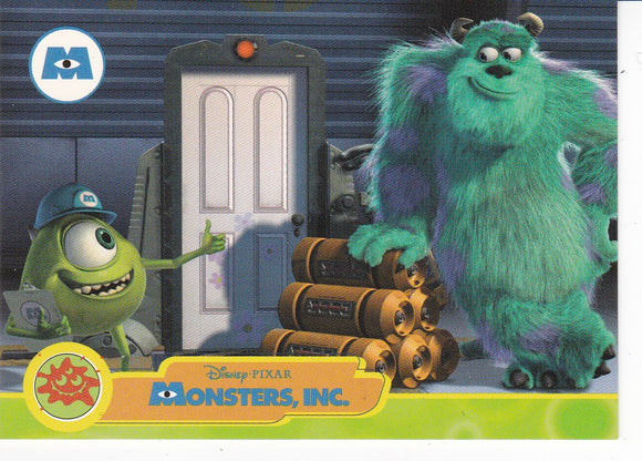 Disney Pixar Monsters Inc Trading Cards Promo card P1