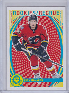 Sean Monahan 2013-14 O-Pee-Chee Rookie card #613 Retro Parallel