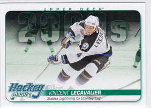 Vincent Lecavalier 2014-15 Upper Deck Hockey Heroes card HH71