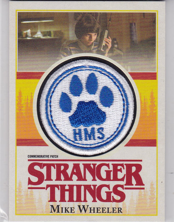 Stranger Things Season 1 Mike Wheeler Commemorative Patch card P-MW