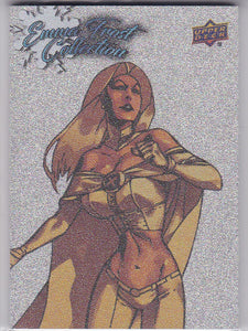 2016 Upper Deck Marvel Gems Emma Frost Collection card EFC-13