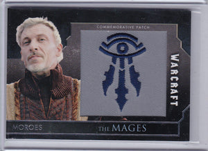 Topps Warcraft The Movie Moroes - The Mages Commemorative Patch Card