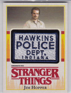 Stranger Things Season 1 Jim Hopper Commemorative Patch card P-JH