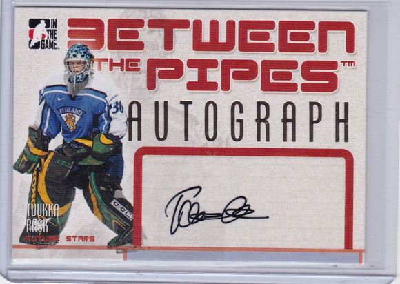 Tuukka Rask 2006-07 Between The Pipes Autograph card A-TR