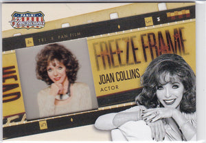 Joan Collins 2015 Americana Freeze Frame Cel card #16