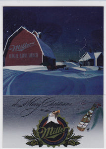 Miller Genuine Trading Cards Holiday Chaser foil card H15