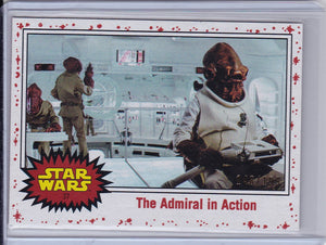 Star Wars Journey to The Last Jedi card #37 The Admiral White Starfield #d 148/199