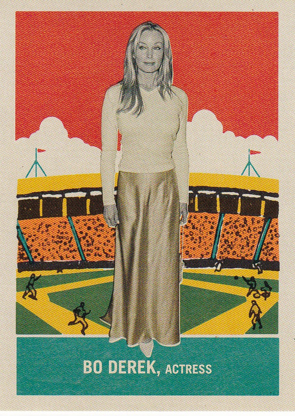 2013 Golden Age Delong Gum Insert card #21 Bo Derek