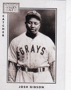 2014 Golden Age 1913 National Game Insert card #5 Josh Gibson - Homestead Grays