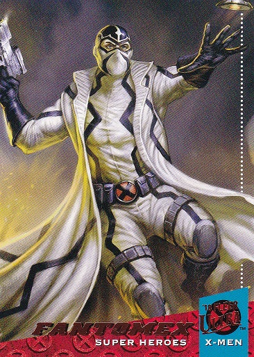 2018 Fleer Ultra X-Men base card #47 Fantomex