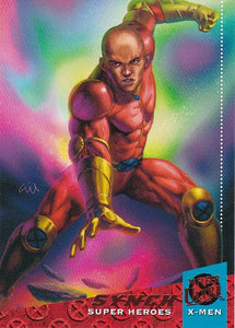 2018 Fleer Ultra X-Men base card #60 Synch