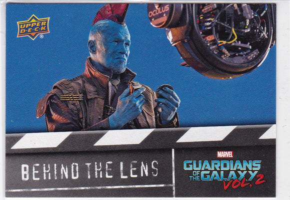 2017 Upper Deck Guardians Of The Galaxy Vol 2 - Behind The Lens card BTL15
