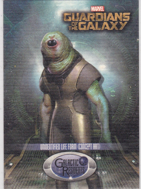2014 Upper Deck Guardians Of The Galaxy - Galaxy Residents card GR-12 Unidentified