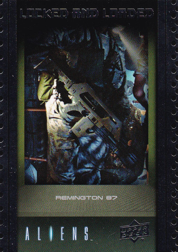 2018 Upper Deck Aliens Locked & Loaded Insert Card ABA-5 Remington 87