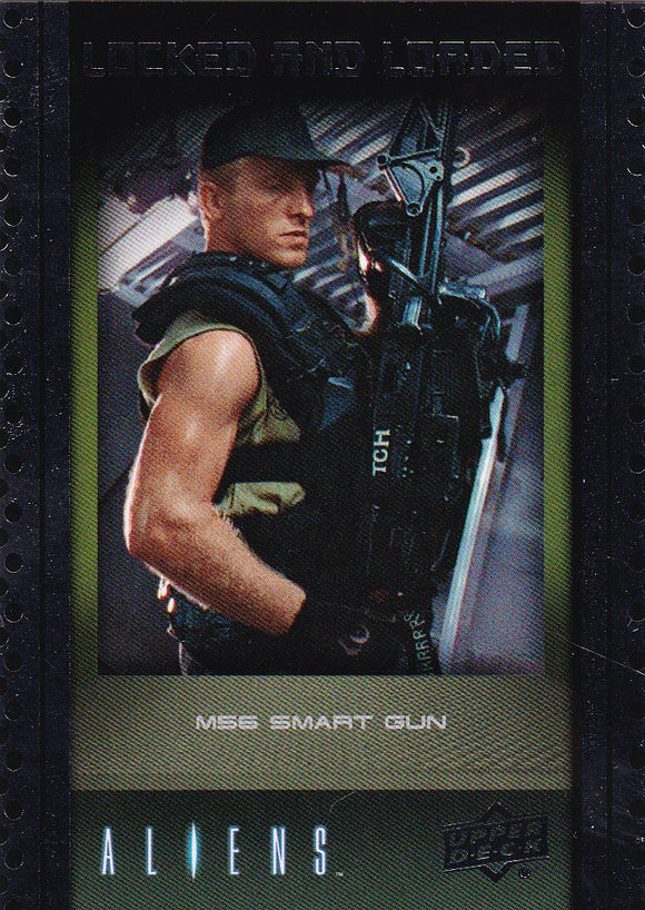 2018 Upper Deck Aliens Locked & Loaded Insert Card ABA-2 M56 Smart Gun