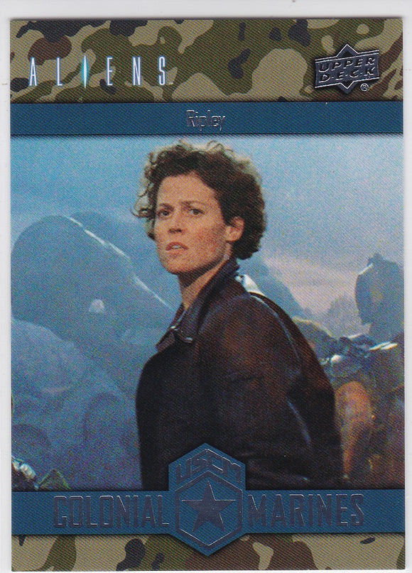 2018 Upper Deck Aliens Colonial Marines Insert card CSO-10 Ripley