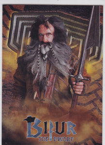 The Hobbit An Unexpected Journey Foil Character Biography card CB-13 Bifur