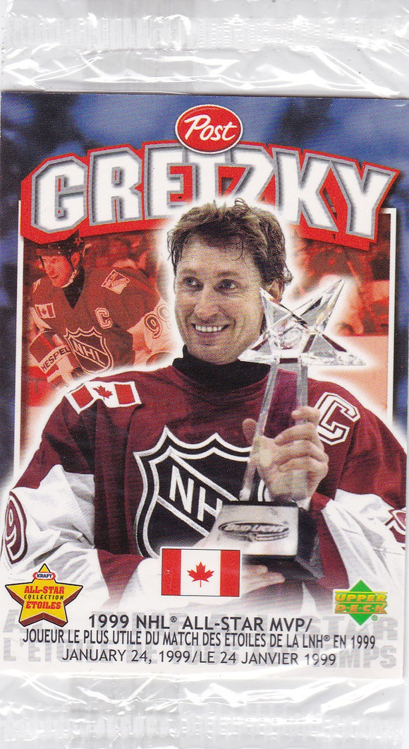 1999-00 Post Cereal Wayne Gretzky Moment card #6 of 7