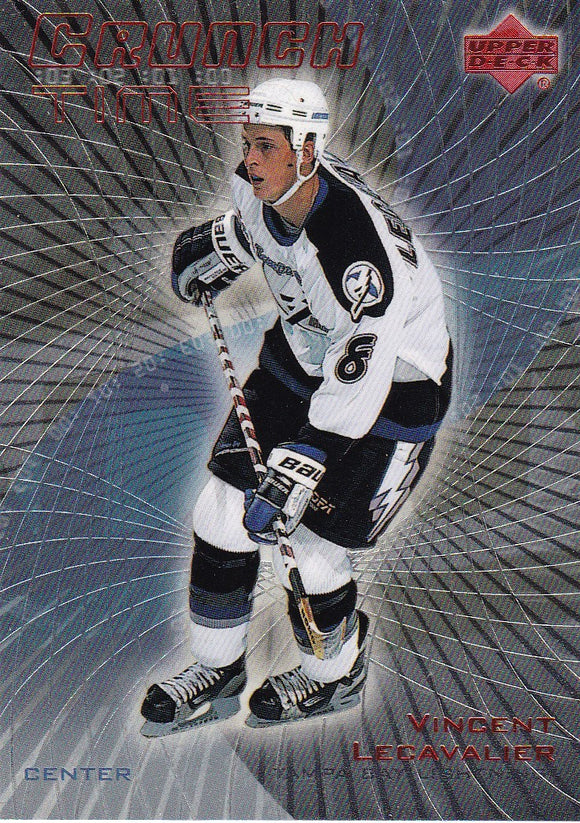 Vincent Lecavalier 1999-00 Upper Deck Crunch Time Insert card CT-1