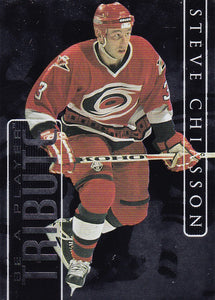 Steve Chiasson 1999-00 BAP Memorabilia Be A Player Tribute card SC-3