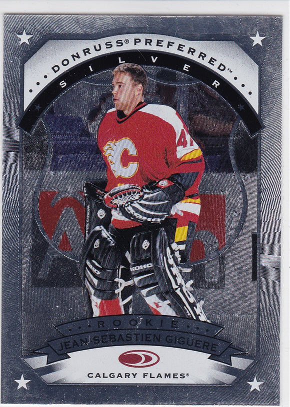 Jean-Sebastien Giguere 1997-98 Donruss Preferred card #160