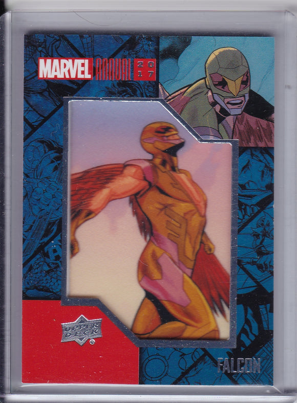 2017 Marvel Annual Comic Patch card CP-6 Falcon
