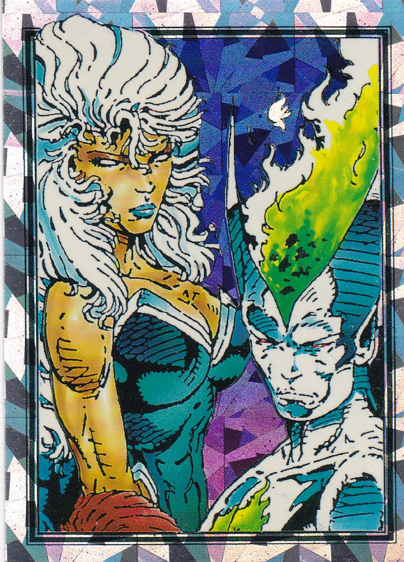 1992 Comic Images Youngblood Prism card P6 New Titans?