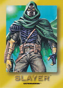 1993 SkyBox Ultraverse Rookie card R5 Slayer