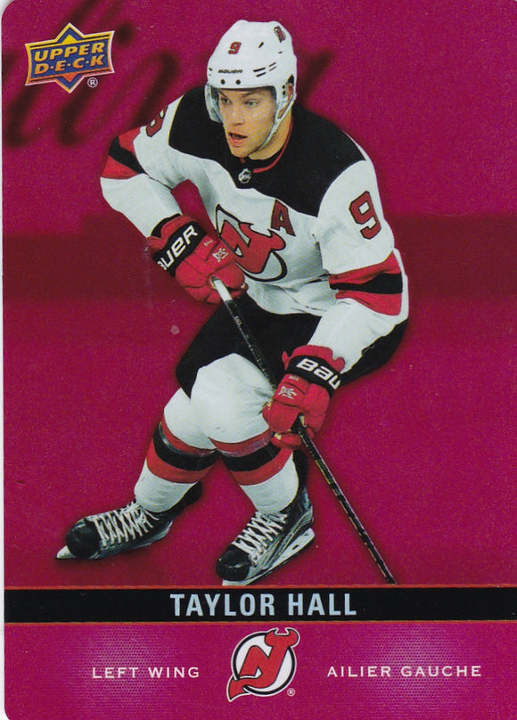 Taylor Hall 2019-20 Tim Hortons Red Parallel Die Cut card DC-18