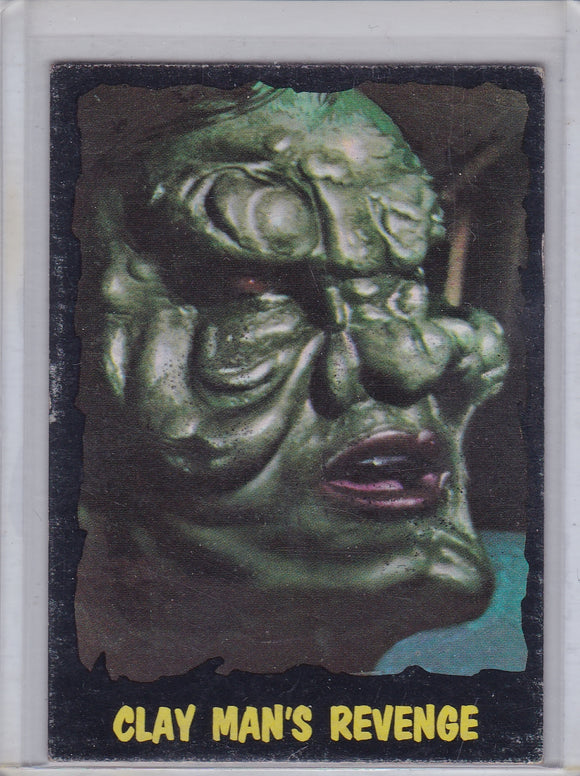 1964 O-Pee-Chee Outer Limits card #46 Clay Man's Revenge