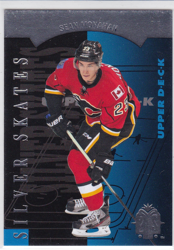 Sean Monahan 2013-14 SP Authentic 1993-94 SP Retro Silver Skates card R18