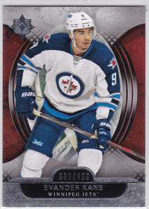 Evander Kane 2013-14 UD Ultimate Collection base card #13 #d 336/499
