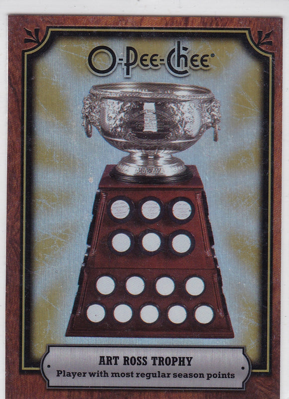 2008-09 O-Pee-Chee Trophy Cards Art Ross Trophy card AWD-AL