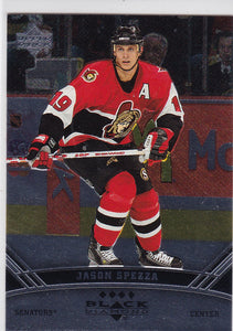 Jason Spezza 2006-07 Black Diamond Quad Diamond card #162