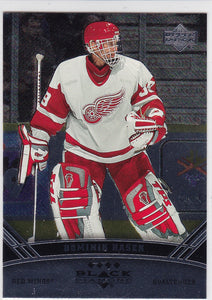Dominik Hasek 2006-07 Black Diamond Quad Diamond card #155
