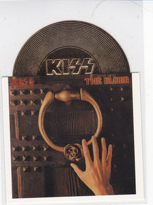 2001 Neca Kiss Alive Gold Record Die-Cut card A12 The Elder