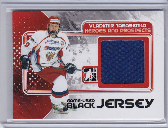 Vladimir Tarasenko 2010-11 Heroes and Prospects Jersey card M-51
