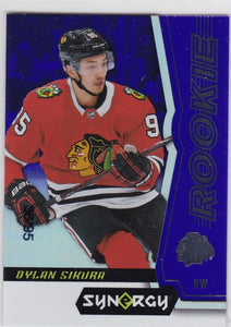 Dylan Sikura 2018-19 Synergy Rookie card #69 Purple #d 36/95