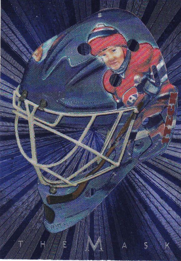 Jeff Hackett 2001-02 BAP Update Between The Pipes The Mask card