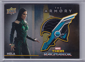 Thor Ragnarok Hela - Body Suit - Armory Memorabilia card AS-14