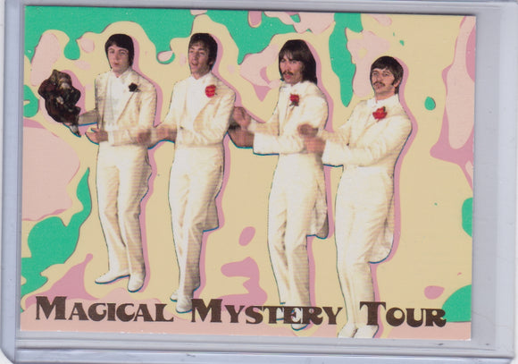 1996 Sports Time The Beatles Magical Mystery Tour Day-Glow card #3