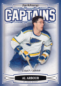 Al Arbour 2006-07 Parkhurst Captains card #205 #d 1597/3999