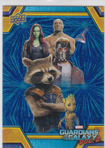 2017 Guardians Of The Galaxy Vol 2 Retail Blue Foil card RB-43