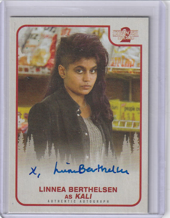 Stranger Things Season 2 Linnea Berthelsen as Kali Autograph card A-08