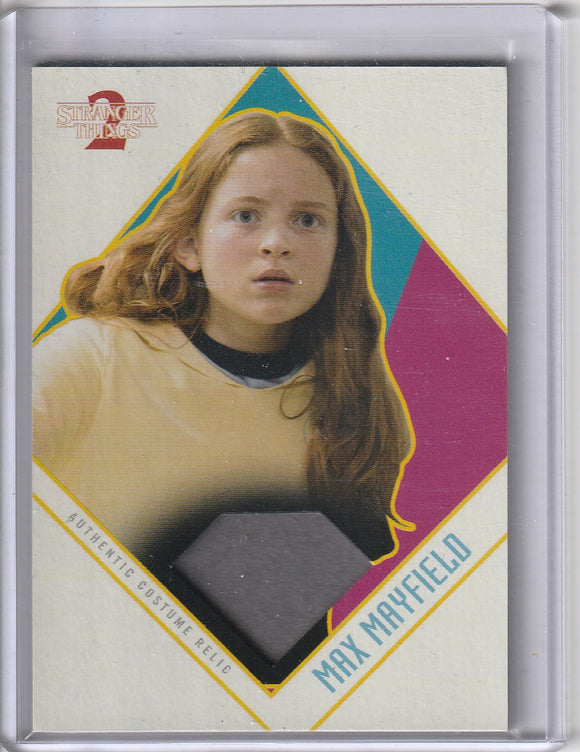 Stranger Things Season 2 Max Mayfield Costume Relic card CR-MJ