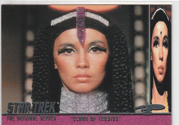 2011 Star Trek Remastered The Original Elaan of Troyius Revised card B114